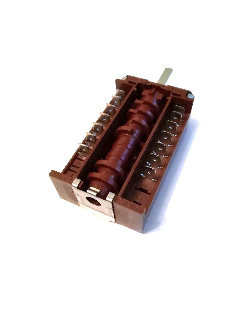 Переключатель 7-ми позиционный ПМ 42.07001.017 для электроплит и духовок / EGO / Германия