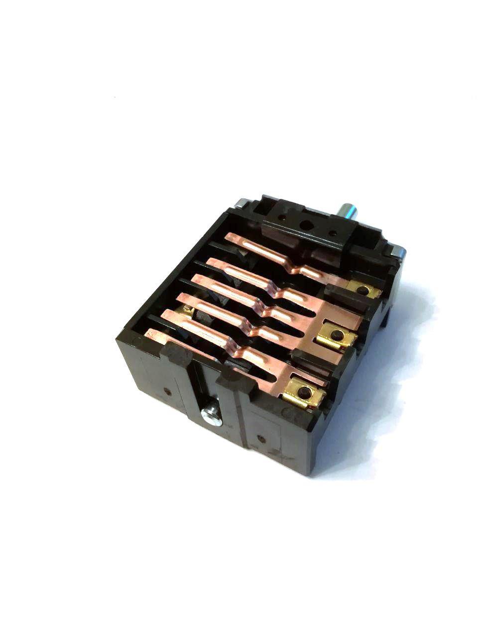 Переключатель 5-ти позиционный ПМ 46.25866.500 для электроплит и духовок / EGO / Германия