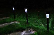 Садовый светодиодный светильник на солнечной батарее, фото 3