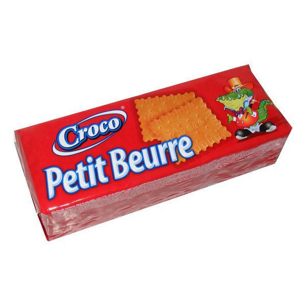 Печиво Croco Petit Beurre 100г галетне