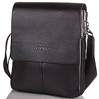 Борсетка-сумка Bonis Борсетка мужская из качественного кожезаменителя BONIS (БОНИС) SHIS8288-black