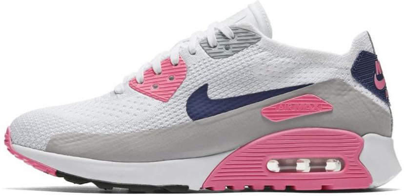 """Женские кроссовки Nike Wmns Air Max 90 Ultra 2.0 Flyknit """"Concord"""" (Найк Аир Макс) разноцветные"""
