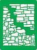 Трафарет самоклеящийся многоразовый Ф_64,15х20см