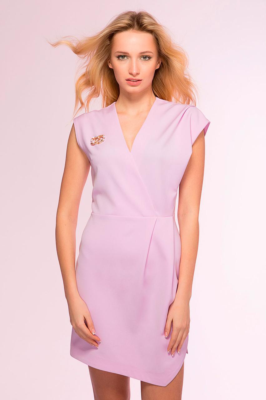 Платье -25090 Сирень