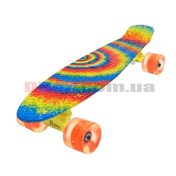 "Пенни борд Penny Style 22"" светящиеся Rainbow (2T2034)"