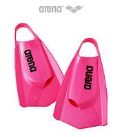 Короткие ласты с открытой пяткой Arena PowerFin PRO (Pink)
