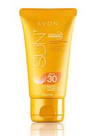 Солнцезащитный увлажняющий лосьон для лица SPF 30, Avon Sun, Эйвон Сан, Ейвон, 94596