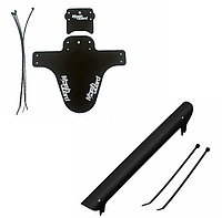 Защита вилки / брызговик MARSH GUARD + защита пера (пластик) (BLACK)