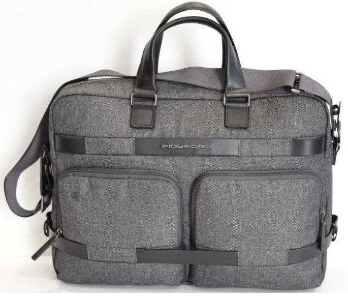 3a7d2461883b Деловой портфель Piquadro PIERRE/Grey CA4127W80T_GR, с отделением для  ноутбука 15,6 дюймов