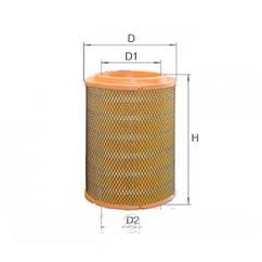 Фильтр воздушный Альфа AF168  LX934  28130 5H001  VW PHAETON 6.0 04/02-