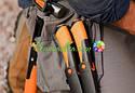 Подарочный набор туриста fiskars (топор + нож + пила + сумка) 1025439, фото 4