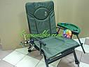 Карповое кресло Elektrostatyk с подлокотниками и столиком (F5R ST/P), фото 2