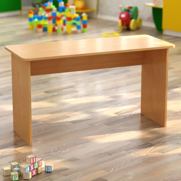 Стол для детского сада двухместный (1100*450*h), фото 1