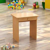 Стол детский одноместный с ящиком (550*450*h), фото 1