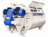 Двухвальный бетоносмеситель БП-2Г-4500.Бетономешалка