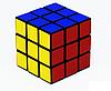 Кубик Рубик 588 в кульке большой, 5,8см, фото 2