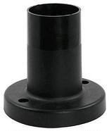 Парковый столбик  NF2802 А1 12 см  черный для шара  150-400мм IP44