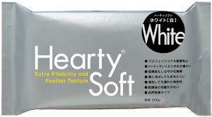 Глина полимерная Padico Самозастывающая 200г Белая Hearty Soft 1513123