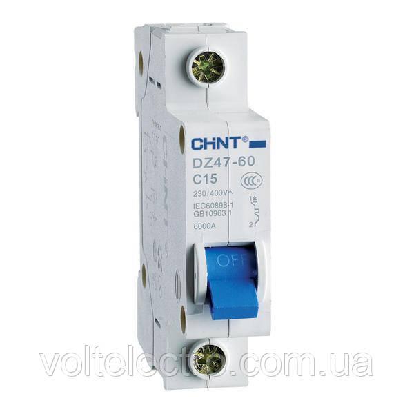 Автоматический выключатель DZ47-60 1P C 20A 4.5kA