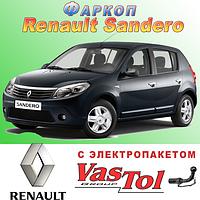Фаркоп Renault Sandero (прицепное Рено Сандеро)
