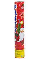 Хлопушка пневматическая Новогодняя, 40 см