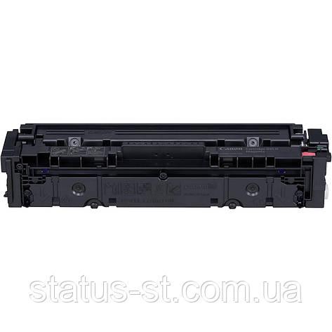 Картридж Canon 045 magenta для принтера i-sensys LBP611Cn, LBP613Cdw, MF631Cn совместимый, фото 2