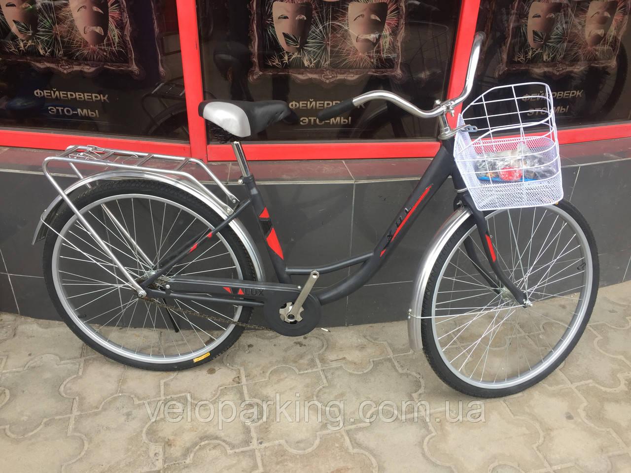Велосипед городской дорожный женский ТХ Люкс 26 (2018) new