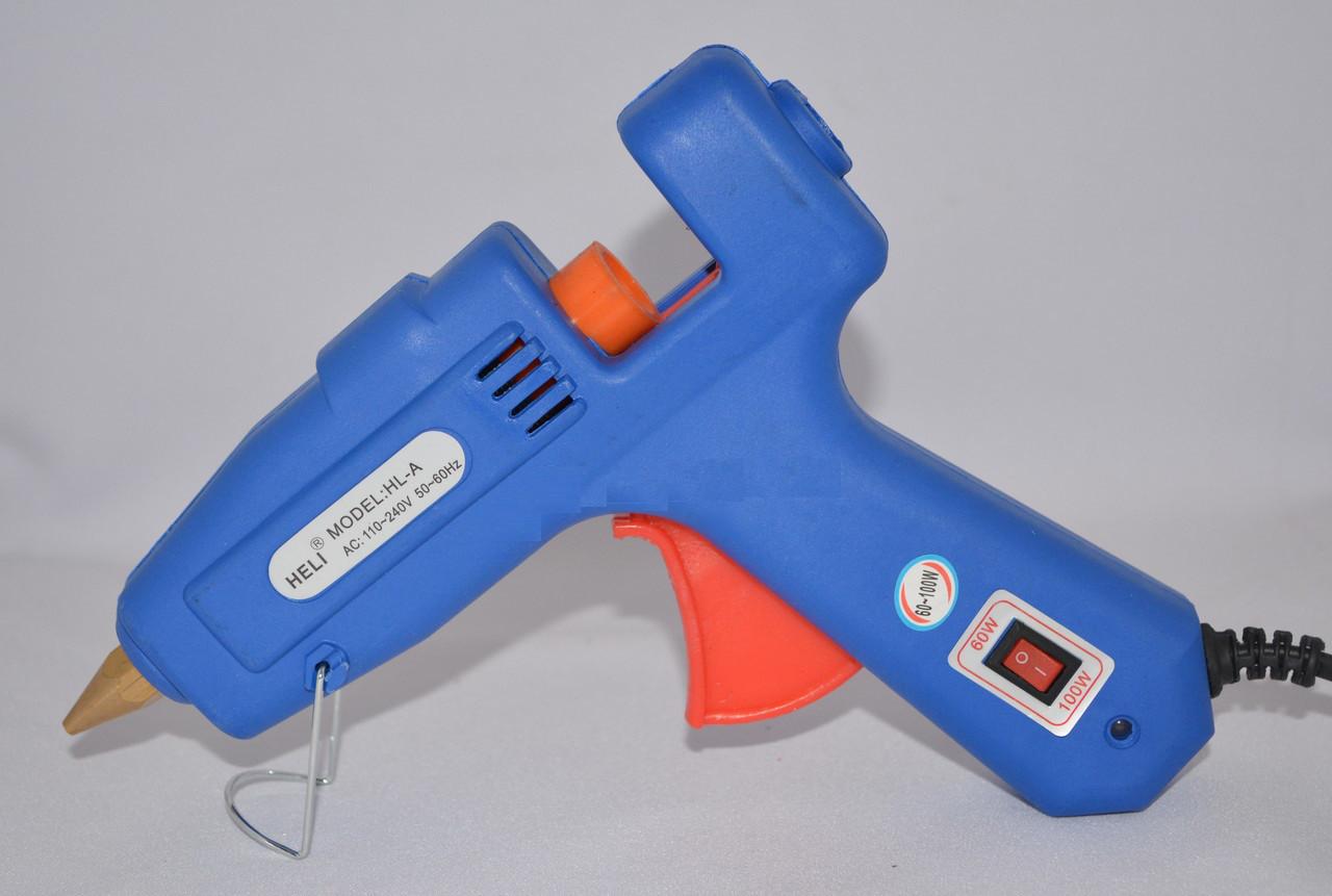 Пистолет клеевой Hot Melt Glue Gun HS-60w-100w