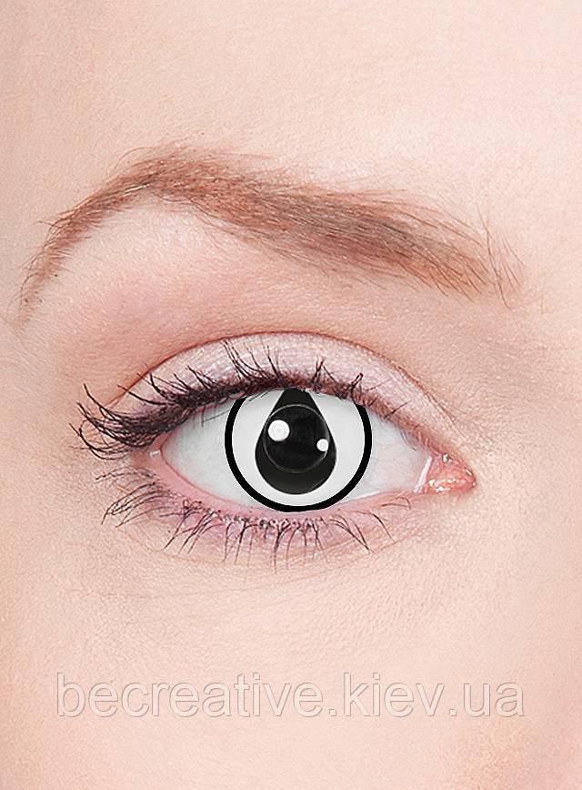 Декоративные контактные линзы в виде капельки