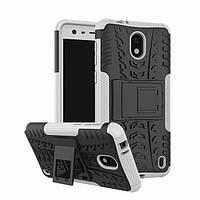 Чехол Nokia 2 противоударный бампер белый