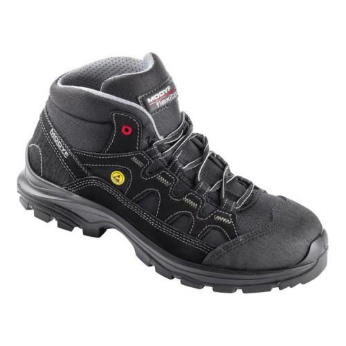 """Ботинки Modyf """"Сетка черные высокие"""" Wurth"""