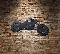 Декор для бару з металу «Мотоцикл»