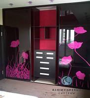 Раздвижные двери для шкафа купе лакобель , фото 1