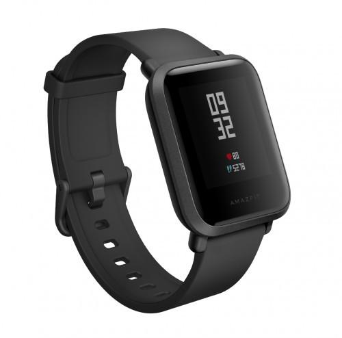 Умные часы Xiaomi Amazfit Bip  Smartwatch  Глобальная версия Black