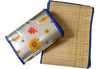 Пляжный коврик с бамбука.длина 180 см ширина 90 см