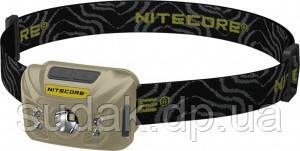Фонарь налобный Nitecore NU30 (Сree XP-G2 S3, 400 люмен, 6 режимов, USB), черный
