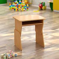 Одноместный регулируемый стол с полкой (550*450*h), фото 1