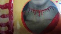 Ошейник имитация Перерезанное горло
