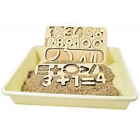 """Набор с кинетическим песком """"учимся считать"""", фото 1"""