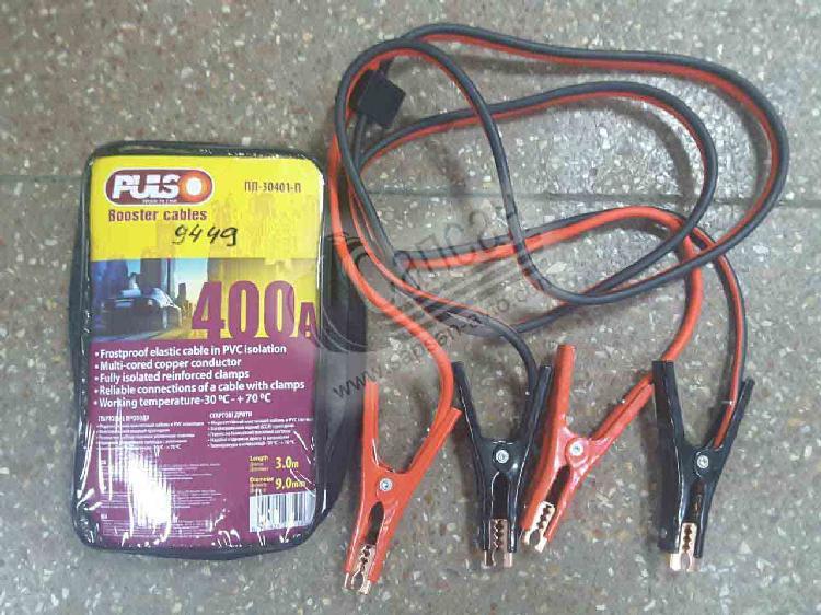 Провода прикуривателя 400А  L=3 м/п с блоком защ.. KT 400A (12)