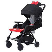 Yoya Care 2018 Minnie Минни Прогулочная детская коляска-трансформер 2 в 1 Алюминиевая