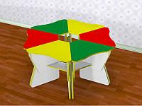 Стол детский Лепесток (560*405*h) регулируемый , фото 1