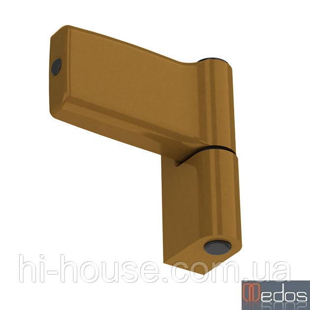 Петля дверна JOCKER 120 кг (бронза) для ПВХ дверей (Польща)