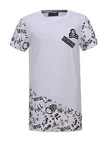 Подовжена футболка для хлопчика