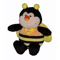Мягкая игрушка Пчела сидячая 17 см