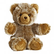 Мягкая игрушка Медведь Обними меня золотистый 41 см