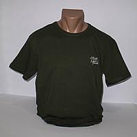 Мужская стрейчевая футболка большого размера Lycra пр-во Турция 4078