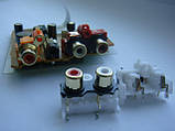 Разьем DKB1102  AKB7181 RCA GOLD (тюльпаны) для cdj900, 2000nexus, фото 4