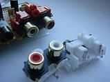 Разьем DKB1102  AKB7181 RCA GOLD (тюльпаны) для cdj900, 2000nexus, фото 5