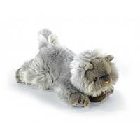 Мягкая игрушка Кошка персидская серая 25 см